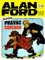115. Alan Ford Klasik - Strip Agent: Pravac Chicago