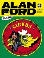29. Alan Ford Klasik - Strip Agent : Cirkus