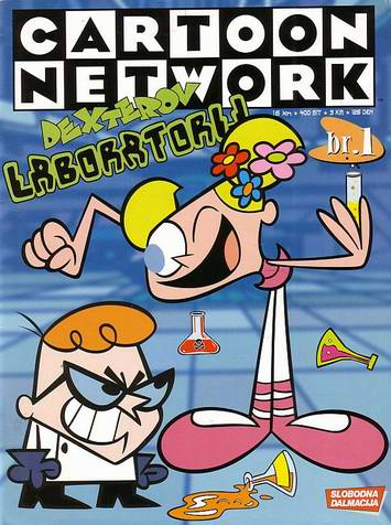 Cartoon netwoork - Dexterov lab