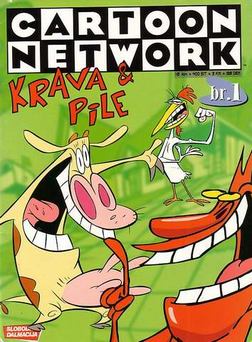 1. Cartoon Network SD: Krava i Pile