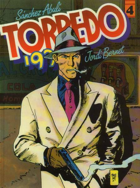 4. Torpedo 1936: crta Jordi Bernet , 1994g. M- PRESS