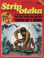 236/7. Stripoteka: 1974g.- TALICNI TOM , TARZAN: Rat u džungli 2