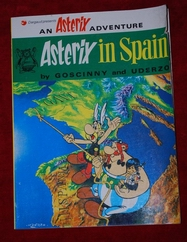 ASTERIX IN SPAIN - Brockhampton Press - 1973g. (na engleskom) -