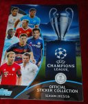 UEFA CHAMPIONS LEAGUE OFFICAL STICKER COLLECTION season 2015/201