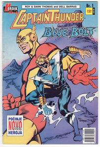 1. CAPTAIN THUNDER AND BLUE BOLT - Heroik - u boji