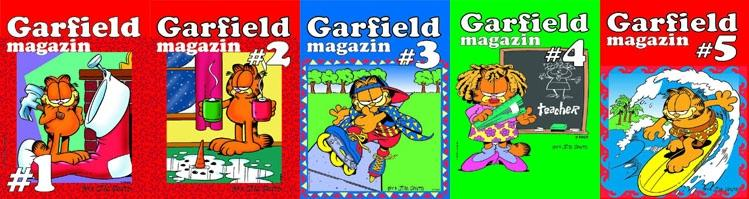 GARFIELD Magazin- mini komplet od 1 do 39 (fali br. 8,13)+ 4