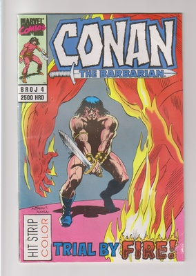 4. CONAN THE BARBARIAN (Moria) - Hit Strip: Trial by fire / Elix