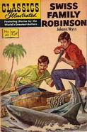 42. . Classics Illustrated - Oct. 1947g. - The Swiss Fammily Rob