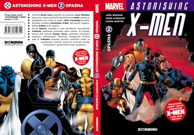 ASTONISHING X-MEN 2 - OPASNA, TVRDI UVEZ, 2007g. ...