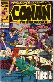1. CONAN THE BARBARIAN (Moria) - Hit Strip: Conan Crveni zubi,
