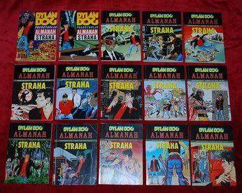 DYLAN DOG - ALMANAH od 1 do 17 fali 2 kom (2,4)