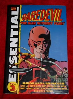vol. 3 Essential Daredevil, Daredevil #49-74 & Iron Man #35-36 -