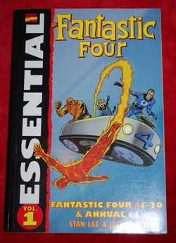 vol. 1 Essential FANTASTIC FOUR , Fantastic Four # 1-20 & Annual