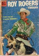 Roy Rogers and Trigger in Manhunt vol. 1 - 114 - june 1957...*