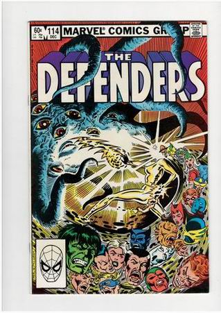 The Defenders #114 (Dec 1982, Marvel)- stri na engleskom jeziku