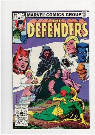 The Defenders #123 (Sep 1983, Marvel) - strip na engleskom = 25k