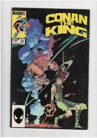 Conan the King #24 (Sep 1984, Marvel) - na engleskom jeziku =35k