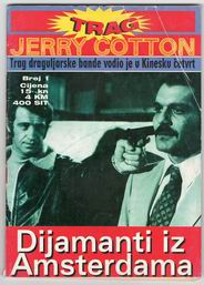 1. TRAG - Aerogram: Jerry Cotton -Dijamanti iz Amsterdama - 64st