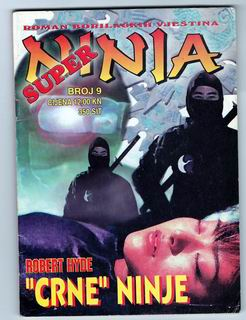 9. SUPER NINJA - Crne Ninje (Robert Hyde) -Strip Agent