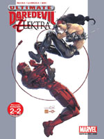 2 UMTU LMI 2 Ultimate Marvel Team Up Ultimate Daredevil & Elektr